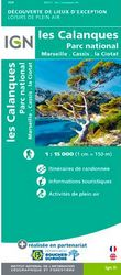 carte  IGN calanque